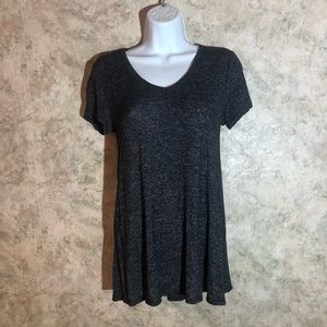 Maurices V-Neck Criss-Cross Tie-Back Tee